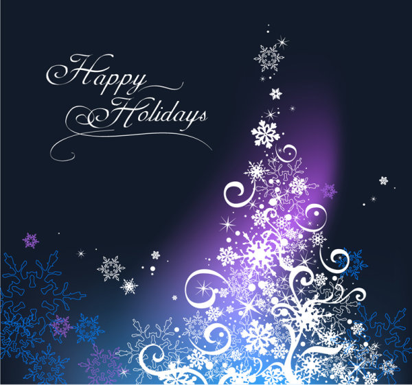 Happy Holidays Merry Christmas Vector Download Free Vectors - free images happy holidays