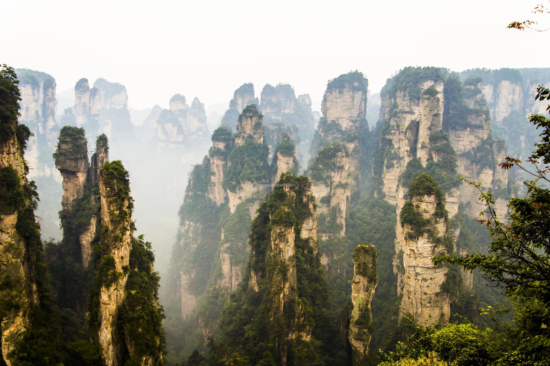 Zhangjiajie National Forest Park Peaks