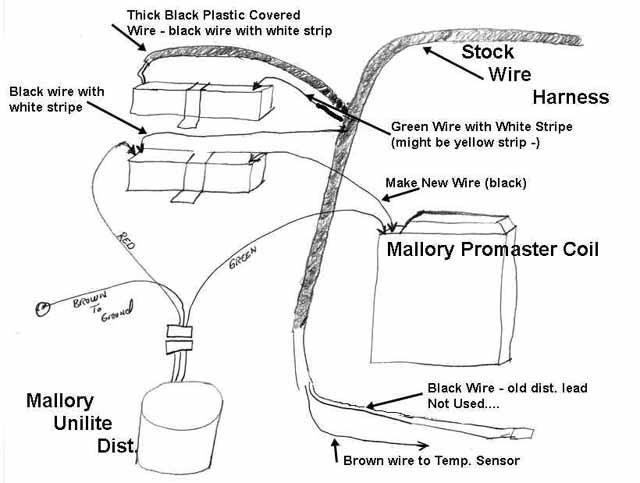 Mallory UniLite Hook Up\u003cbr\u003e for 72 Datsun 240Z