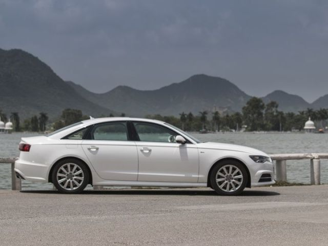 Audi A6 India review profile shot