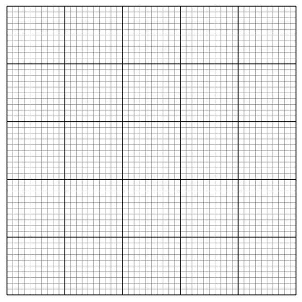 1 mm graph paper