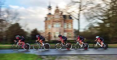 Tijdrijden vrouwenwielrennen Swaboladies ploegentijdrit