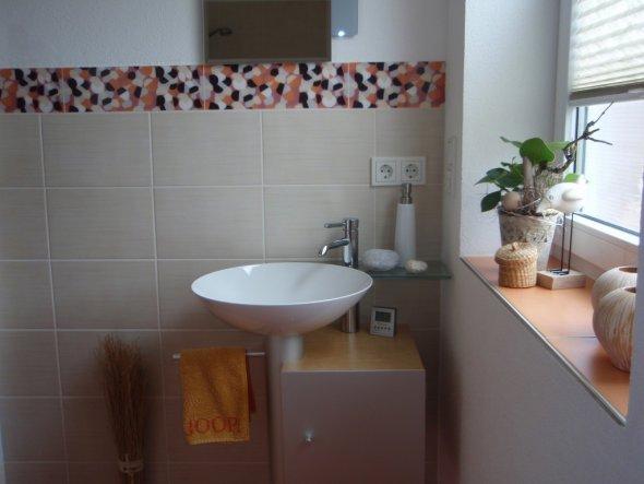 glasmosaik fliesen braun beigegaste wc | node2012-designde ...