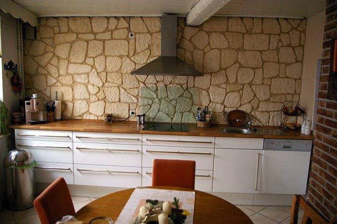 kücheneinrichtung ideen kochinsel maße moderne kücheneinrichtung - k chenzeile ohne oberschr nke