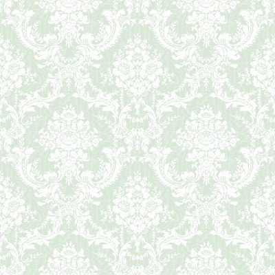 3d Wallpaper For Computer Gray Cats Light Green Ornate Floral Wallpaper Tileable Background