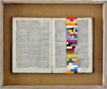 Databook, libro e lego 60x40cm