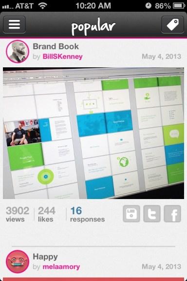 Playbook App shot
