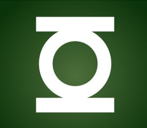 Green Lantern Logo using CSS and HTML