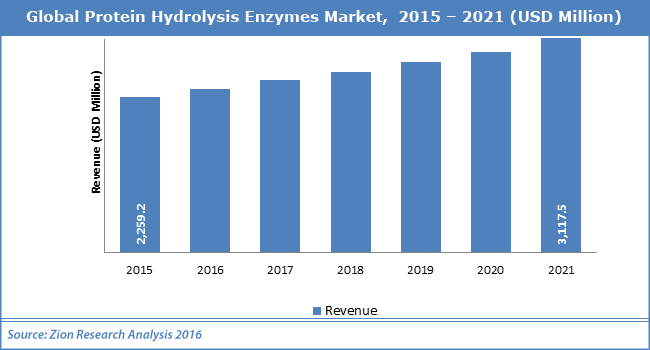 Global Protein Hydrolysis Enzymes Market