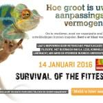 Survival of the Fittest – Verrassend inspiratiecongres – 14 jan 2016