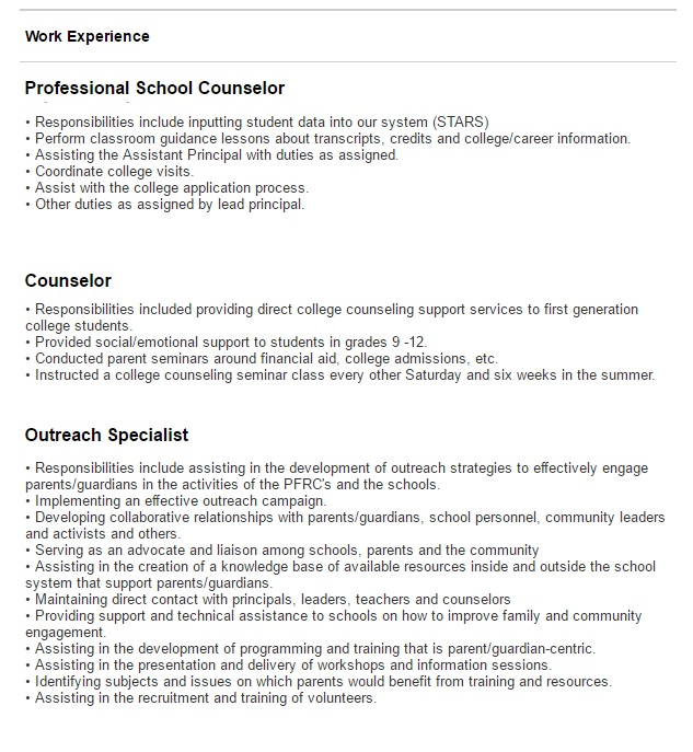 statistics major resume - Selol-ink