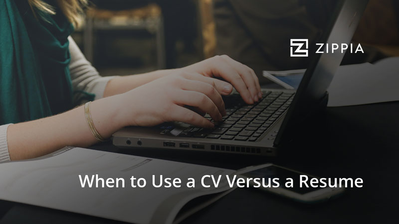 Here\u0027s How to Decide When to Use a CV versus a Resume - Zippia