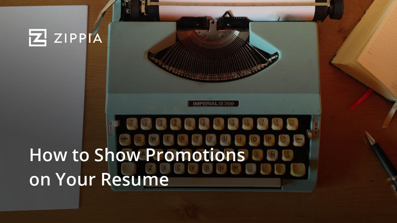 How to Show Promotions on Your Resume - Zippia
