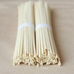 Udon Noodles With Creamy Tahini Sauce, Roasted Kale & Tofu