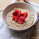 Vegan Almond Butter Oatmeal