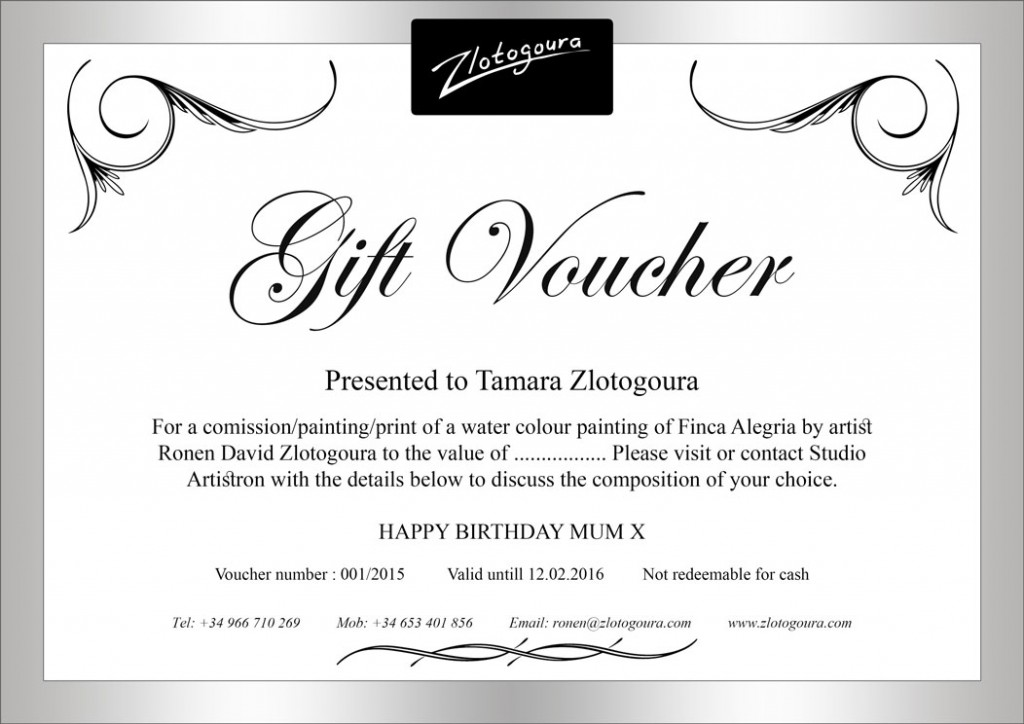 Blank Voucher Gift Voucher Examples In Free Gift Certificate - make your own voucher