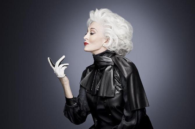 Top modelka - Carmen Dell'Orefice ma 83 lata i nadal pracuje w zawodzie