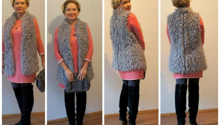 Jak się ubierać po 50. Zimowa stylizacja