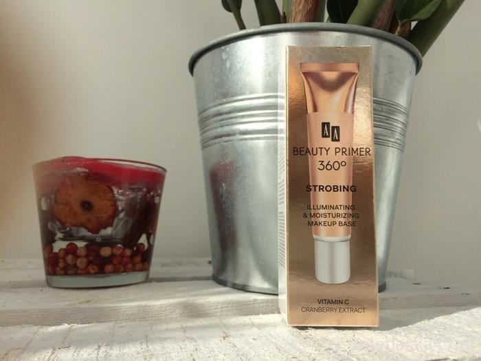 Baza rozświetlająca AA Beauty Primer 360 STROBING – opinia