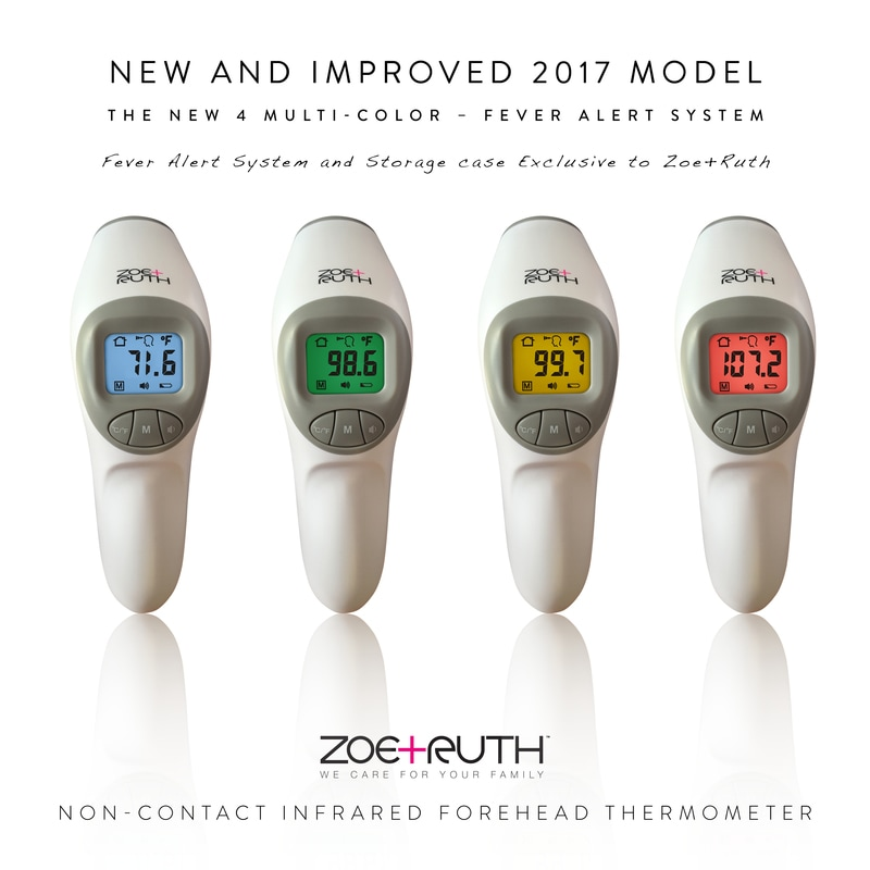 Infrared Forehead Thermometer - Zoe+Ruth