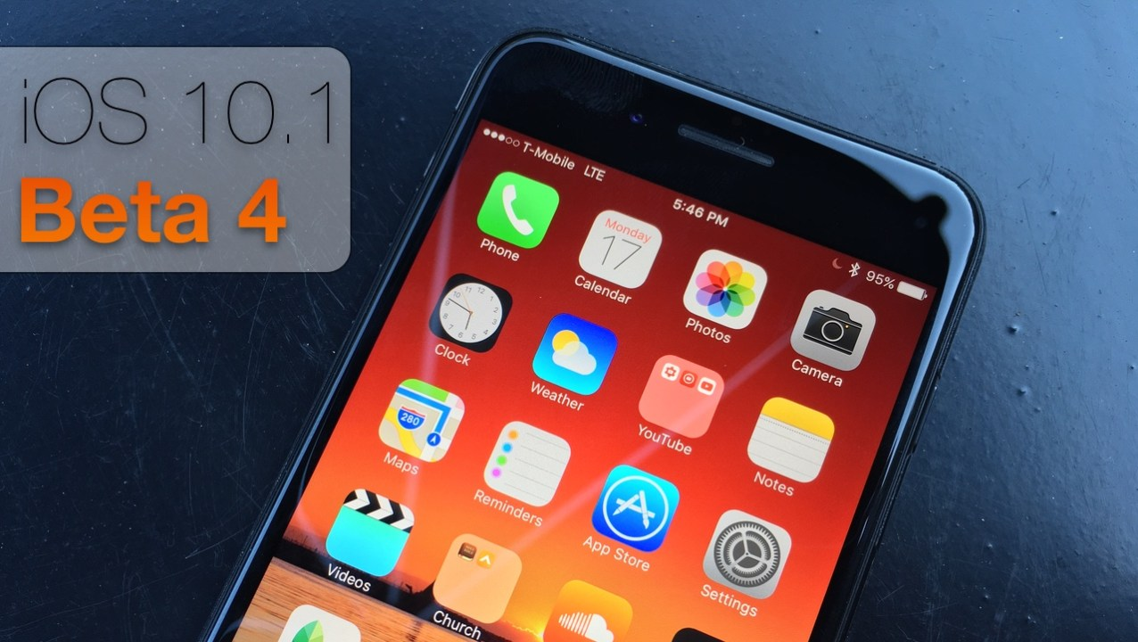 iOS 10.1 Beta 4 – What's New?