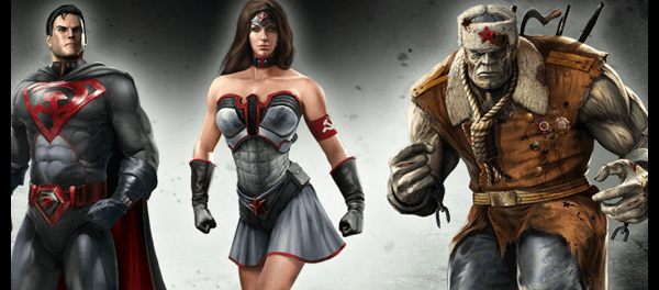 Red Son Injustice Gods Among Us DLC