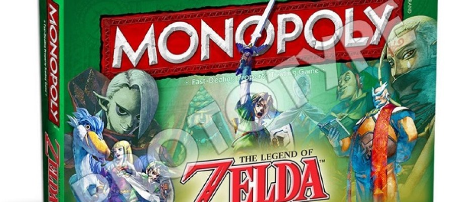 Legend of Zelda Monopoly