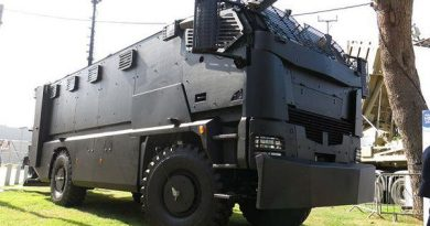 Vehículo blindado de transporte Plasan Guarder en Rio 2016