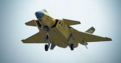 China espera que el J-20 este listo para el combate para 2019