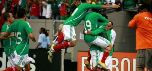 Mexico goleó 5-0 a Gambia