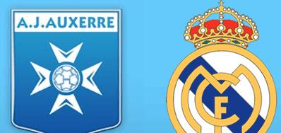 AJ Auxerre vs Real MAdrid en VIVO