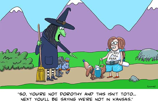 Dorothy and Oz Witch