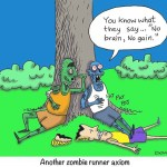 zombie runners digest brains