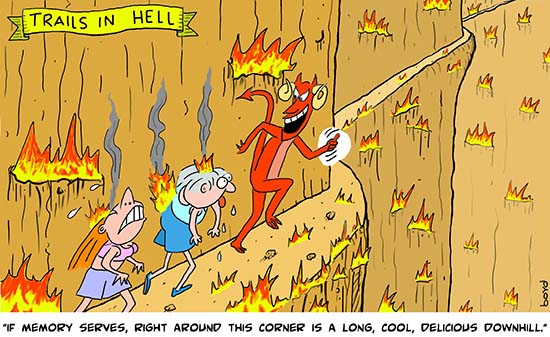 Trails in Hell