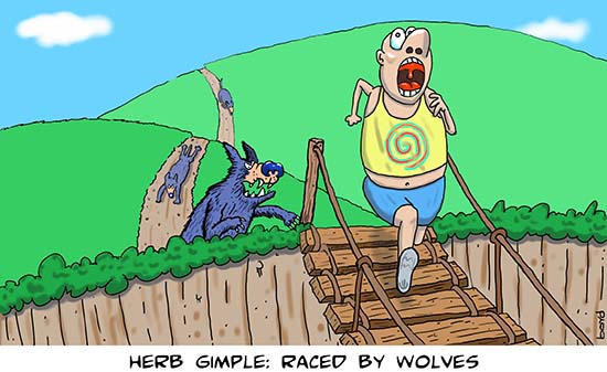 Raced by Wolves
