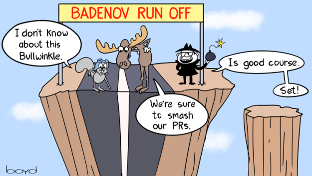 Boris Badenov Run Off