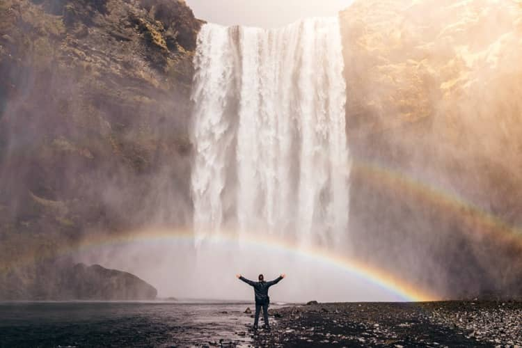 waterfall-rainbow-happy-success-freedom