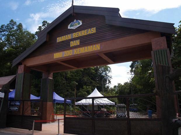 Pintu Masuk Utama Zoo Kemaman