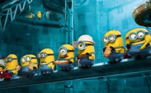 Minions Have Lunch