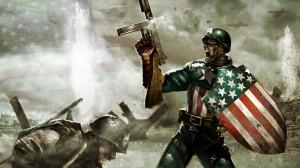 D-Day Captain America