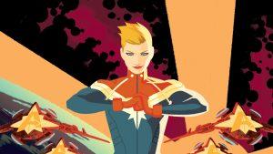 Captain Marvel is power