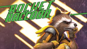 Rocket Raccoon is angry