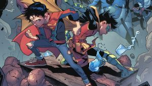 Superboy and Robin