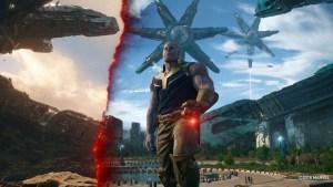 Thanos Steps Through Time