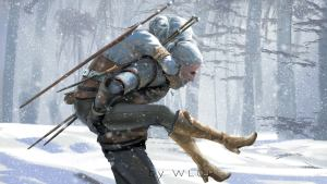 Witcher Piggy Back Ride