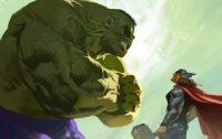 hulk and thor artwork 0g