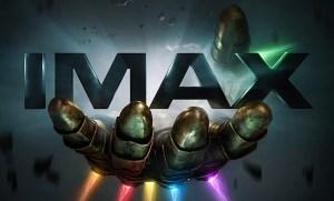 thanos infinity gauntlet imax poster dm