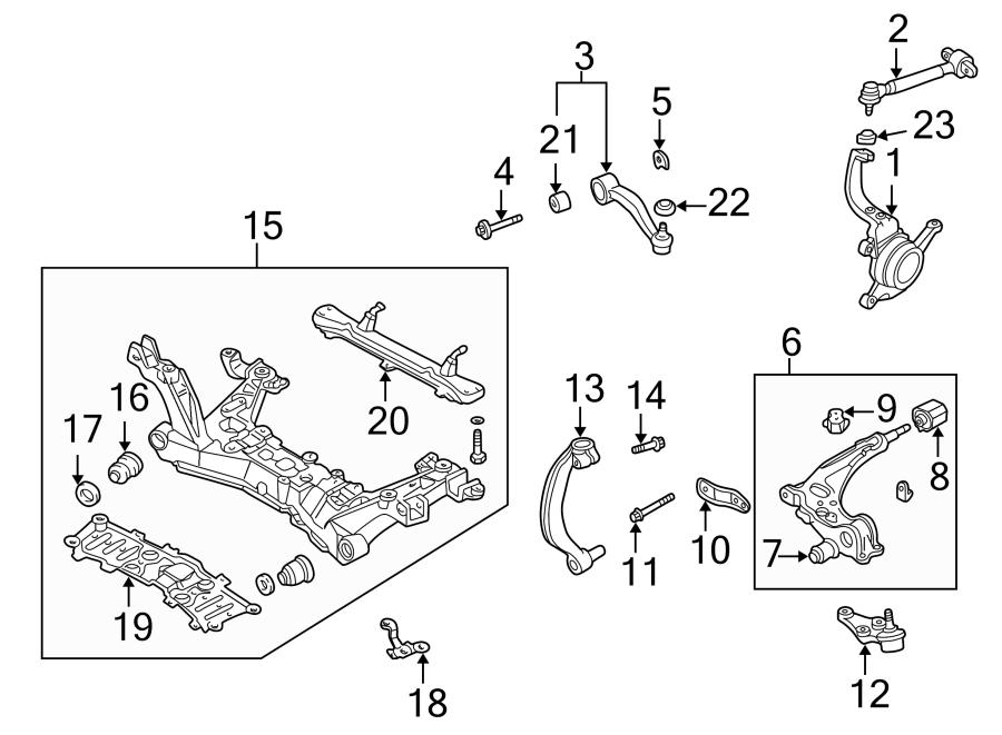 mazda protege5 Motor diagram