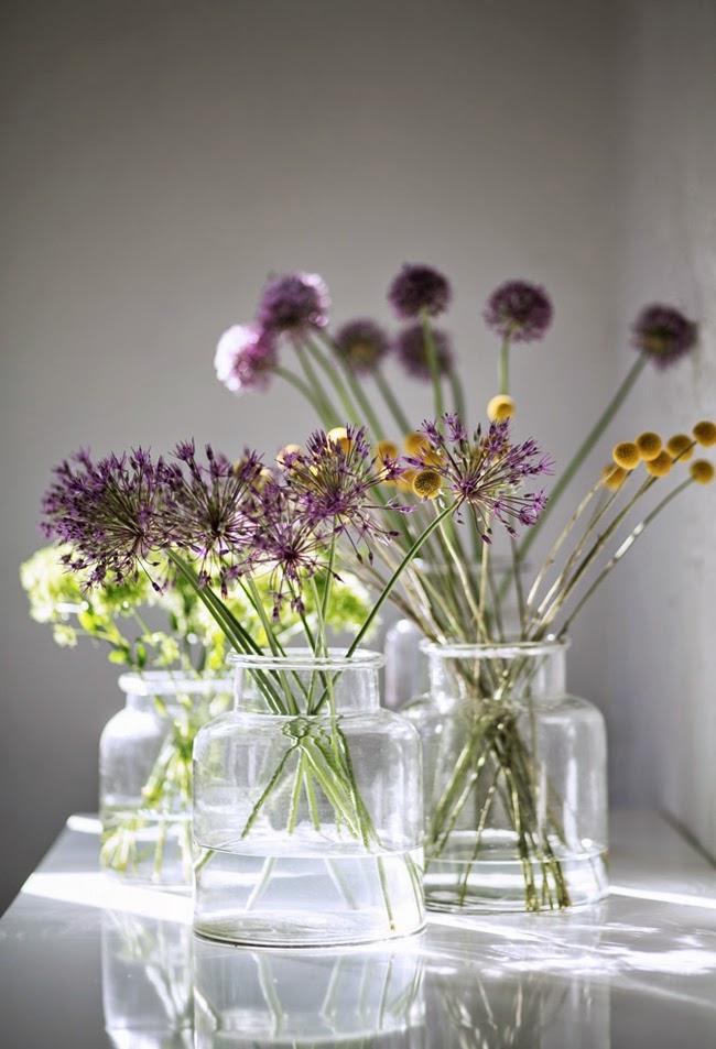 szklany wazon, słój vintage