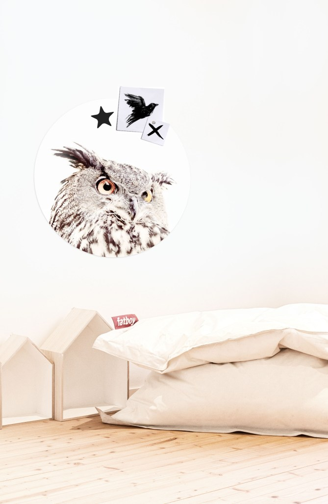 MAGNET STICKER OWL